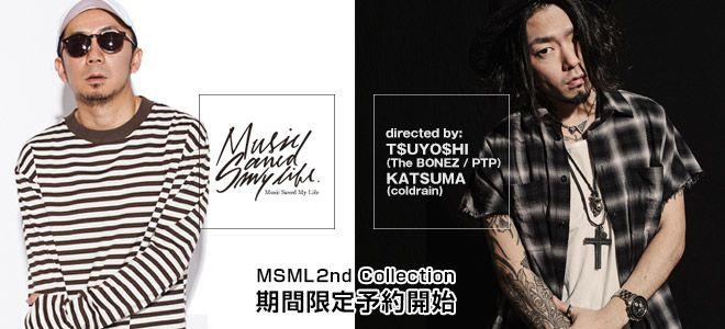 T$UYO$HI&KATSUMAがディレクションを務めるMSML予約開始