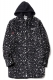 RUDIE'S ANIMAL LONG HOOD SHIRTS BLACK