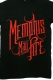 MEMPHIS MAY FIRE Red Logo Black