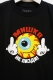 MISHKA (ミシカ) SMILEY KEEP WATCH TEE BLACK