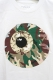 MISHKA (ミシカ) CAMO KEEP WATCH TEE WHITE