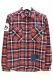 SQUARE LV CHECK SHIRTS RED CHECK