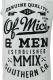OF MICE & MEN Text White Tank Top