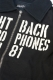 NineMicrophones DECK JKT-FIGHT BACK- BLK/WHT