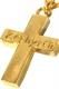 Zephyren (ゼファレン) METAL NECKLACE -STUDS CROSS- GOLD