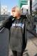 THRASHER TH95206 BAR MAG LOGO HOODIE BLACK