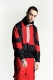 PARADOX – SWITCHING PULLOVER BLOUSON SCARLET
