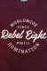 REBEL8 WORLDWIDE DOMINATION CREW BURGUNDY
