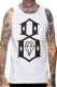 REBEL8 STANDARD ISSUE WHITE TANK