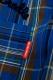 ROLLING CRADLE GRAVY CHECK BIG SHIRT / Blue