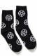 KILL STAR CLOTHING Pentagram Ankle Socks [B]