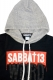 SABBAT13 SCARE PULL-OVER PARKA BLK
