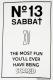 SABBAT13 No.13 L/S T-sh WHT