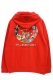 ROLLING CRADLE (ロリクレ) 6090 ALL STAR HOODIE RED