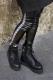 SILLENT FROM ME HOOKY -Legging Pants- BLACK