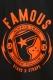 FAMOUS STARS AND STRAPS (フェイマス・スターズ・アンド・ストラップス) SHOCKER TEE BLACK