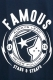 FAMOUS STARS AND STRAPS (フェイマス・スターズ・アンド・ストラップス) SHOCKER TEE NAVY