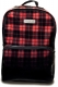 KILL STAR CLOTHING Tartan Backpack B/R