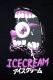 ICECREAM EYES Tee BLACK