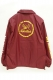 TOY MACHINE TMFJK2 scribmonster-monster Coach Jacket Burgundy
