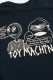 TOY MACHINE TMF18LT5 toymachine logo Long Tee Black