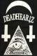 DEADHEARTZ WORLD COACH JACKET BLACK