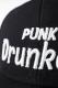 PUNK DRUNKERS (パンクドランカーズ) ドランクBB.CAP BLACK