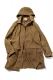 ANIMALIA AN16A-JK01 Rustic Coat-Paraffin  BROWN