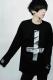 アマツカミ 心中 Long T-Shirt Black