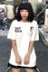 MISHKA (ミシカ) MSS170050 TEE WHITE