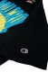 ROLLING CRADLE 80s 3D LOGO T-SHIRT / Black