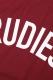 RUDIE'S PHAT-T BURGUNDY