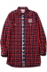 RUDIE'S DRAWING LONG SHIRTS RED CHECK