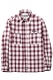 RUDIE'S SCRIPT CHECK SHIRTS RED