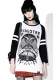 KILL STAR CLOTHING (キルスター・クロージング) In Like Sin Raglan Top [B]