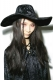 KILL STAR CLOTHING (キルスター・クロージング) VELVET WITCH BRIM HAT