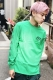 ROLLING CRADLE DELICIOUS TACOS LONG T-SHIRT / Green
