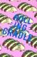 ROLLING CRADLE DELICIOUS TACOS LONG T-SHIRT / Blue