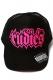 RUDIE'S SPARK MESH CAP BLACK/BLACK/PINK