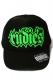 RUDIE'S SPARK MESH CAP BLACK/BLACK/GREEN