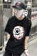 MISHKA(ミシカ) ENTANGLED KEEP WATCH T-SHIRT FL 171104 BLK