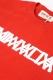 ANIMALIA AN17SP-TE01 L/S TEE LOGO REDxWHITE