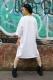 LiST 羽クロス T-shirt WHT/BLK