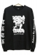 REBEL8 110040051 RETURN TO STRENGTH LS TEE BLK