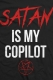 STAY SICK CLOTHING Satan Is My Copilot Black T-Shirt