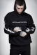 DISTURBIA CLOTHING HEAVY METAL HOODY BLACK
