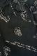 TOY MACHINE TMS18SP21 PRINT SHORT PANTS BLACK