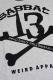SABBAT13 13X-BONE 7/S RAGLAN T (GY)