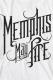 MEMPHIS MAY FIRE Logo White - T-Shirt