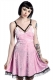 KILL STAR CLOTHING (キルスター・クロージング) Adora Velvet Crush Dress [PINK]
